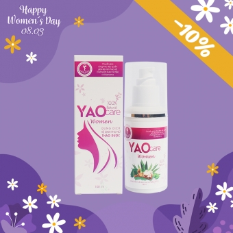 Dung dịch vệ sinh phụ nữ Yaocare Women GIẢM 10%