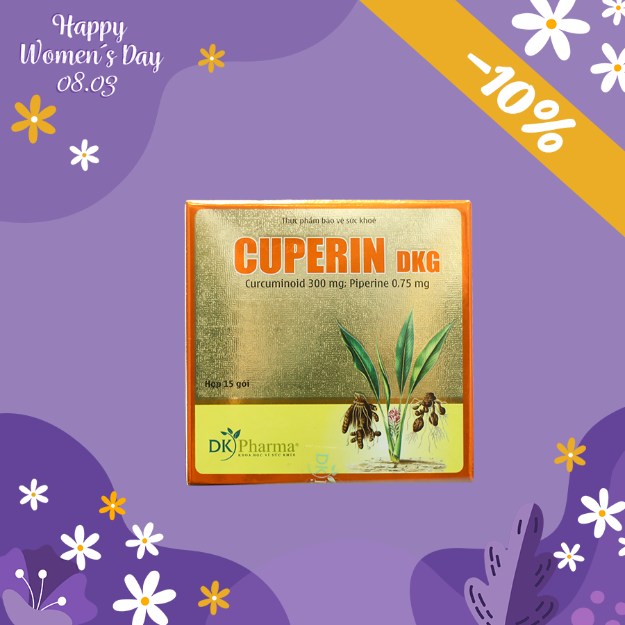 CỐM NGHỆ CUPERIN GIẢM 10%