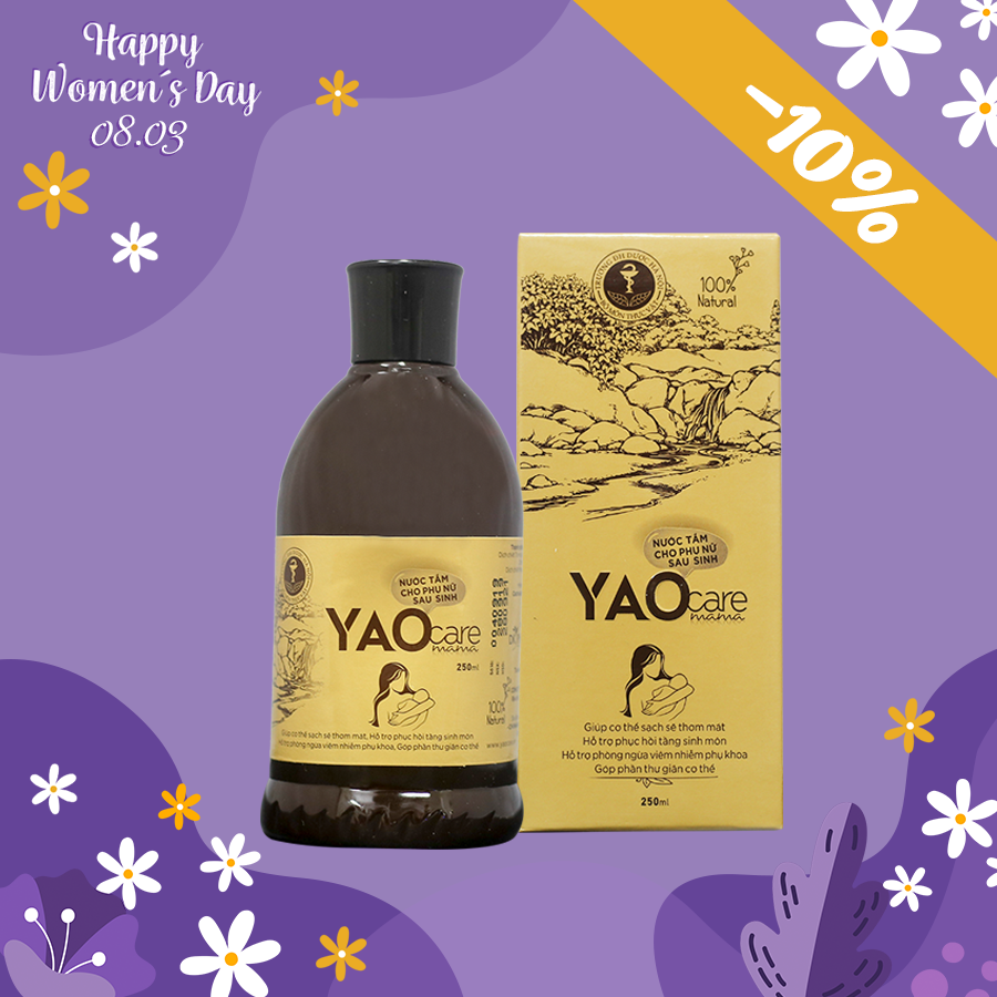 Xông tắm YAOCARE MAMA  - GIẢM 10%