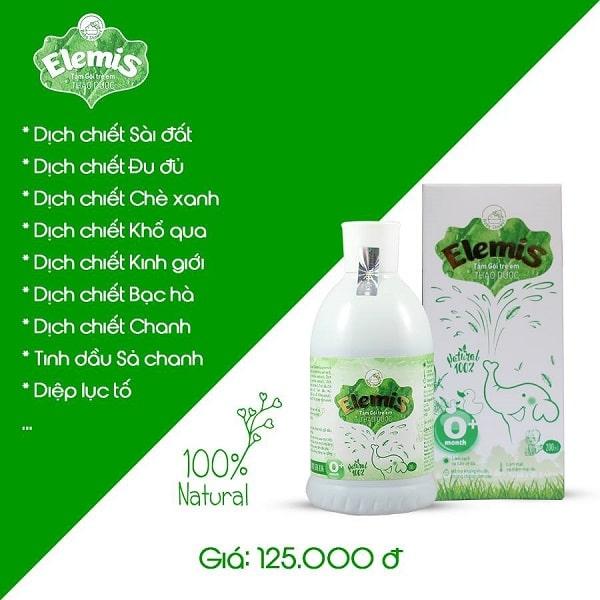 Sữa tắm thảo dược Elemis với nguồn gốc từ các dịch chiết thiên nhiên
