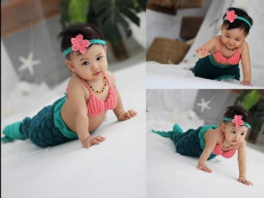 Nàng tiên cá Sushi xinh xắn, đáng yêu này