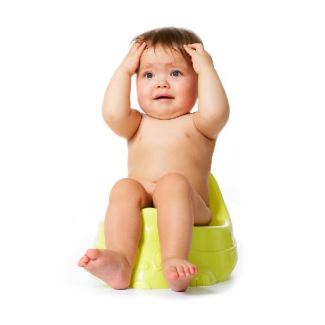 Căng thẳng khi đi tiêu dễ khiến mẹ nhầm lẫn về tình trạng táo bón ở trẻ sơ sinh