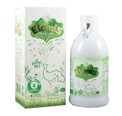 Elemis sữa tắm an toàn cho trẻ em