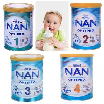 Sữa Nan nhâp khẩu từ Nga cho nhiều thế hệ phù hợp với từng giai đoạn phát triển của trẻ.