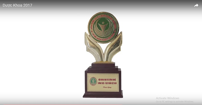 giải thưởng vì sức khỏe người tiêu dùng