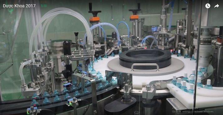 Nhà máy Dược Khoa có hệ thống máy móc hiện đại