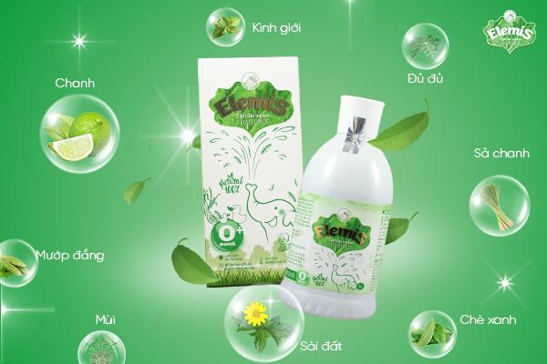 Sữa tắm Elemis được chiết xuất hoàn toàn từ thiên nhiên
