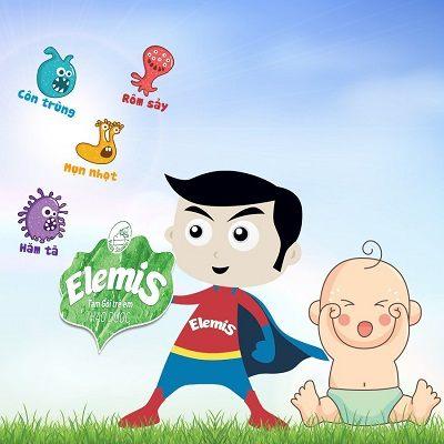 sữa tắm Elemis bảo vệ bé trước các yếu tố gây bệnh